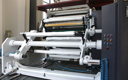 Gravure Printing Press with Mechanical Drive