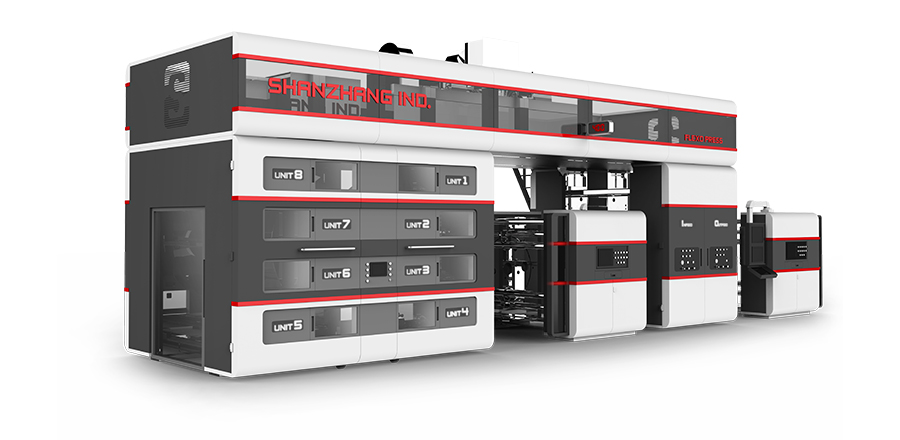 Flexographic Printing Press (Servo Motor Control)
