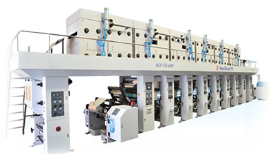 Reverse Roll Coater Type SGMC-AL150, Aluminum Foil Coating Machine